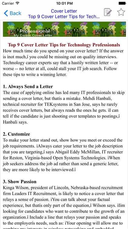 Cover Letter screenshot-2