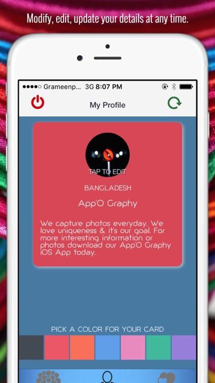 SharePro - Share Your Business & Personal Profiles screenshot-3