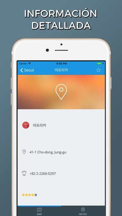 Seúl - Mapas de la ciudadCaptura de pantalla de2