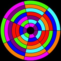 Aplikacja Color Wheel Puzzle W App Store
