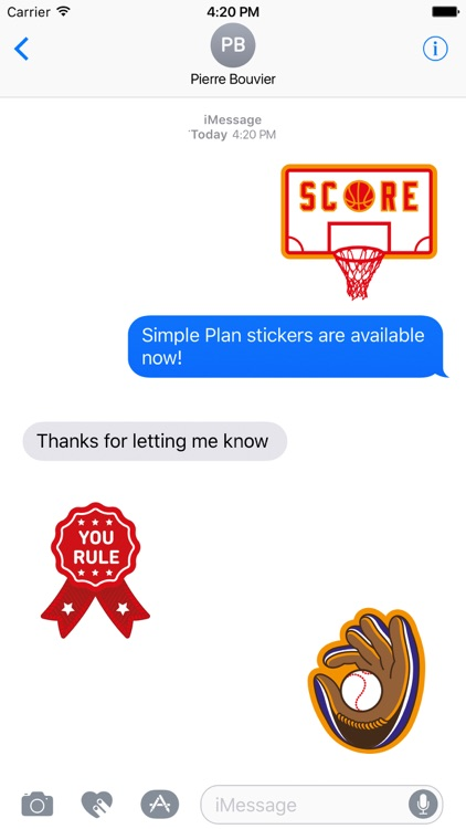 Simple Plan Sticker Pack