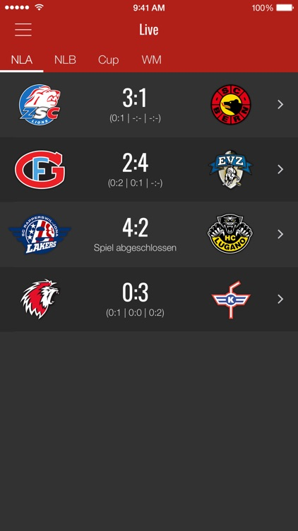 HockeyInfo screenshot-0