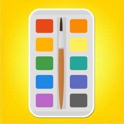 Colorful Arts and Crafts Supplies Sticker Pack