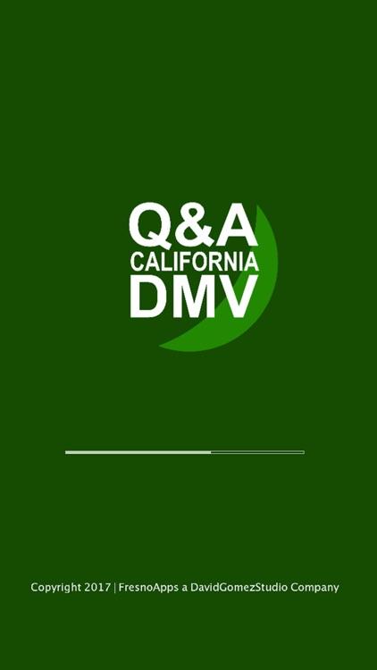 CA DMV TEST 2017