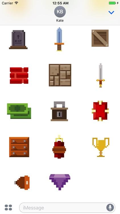 Animated Pixel Game Stickers screenshot-4