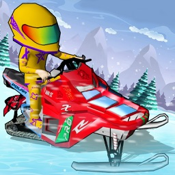 SnowMobile Icy Racing - SnowMobile Racing For Kids