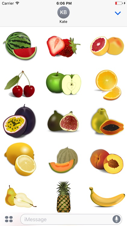 Fruit Stickers - Yum!