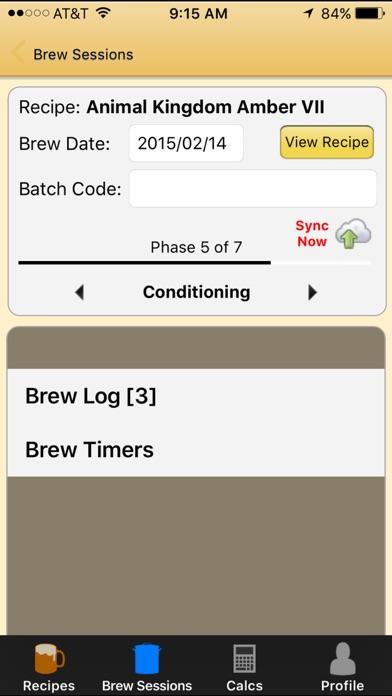 Brewer's Friend Screenshot