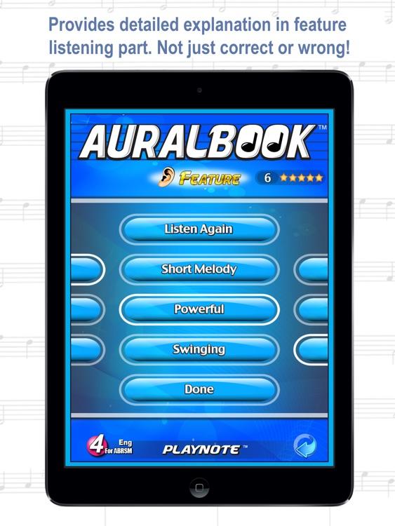 AURALBOOK for ABRSM Grade 4 HD screenshot-3