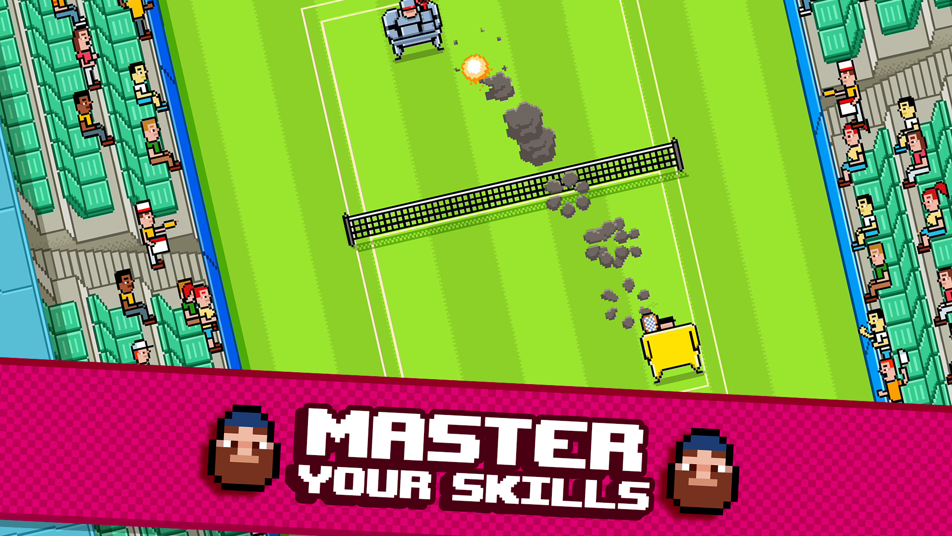 Timber Tennis screenshot 11