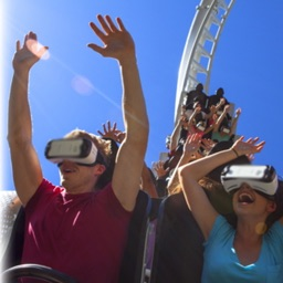 VR Roller Coaster 360 Movies Simulator