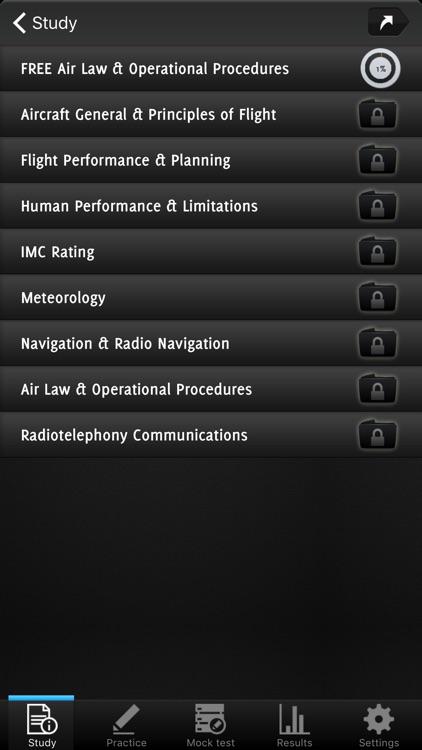 EASA Pilot Exam Prep (LAPL) screenshot-4