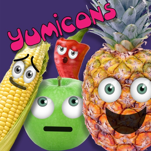 Yumicons Fun Food Stickers