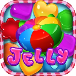 Jelly Blast Saga - Mania Match 3 Adventure
