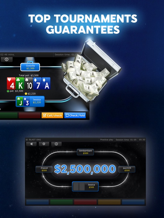 888 Poker - Texas Holdem Poker Games! screenshot-4