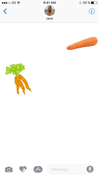 更多胡蘿蔔貼紙屏幕截圖2