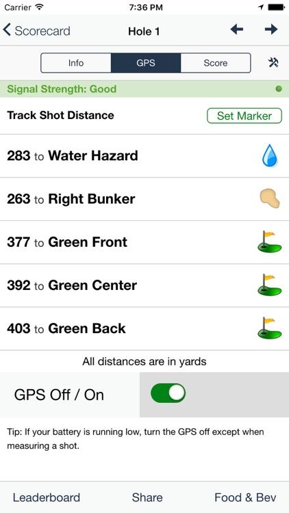 Settlers' Ghost Golf Club screenshot-4