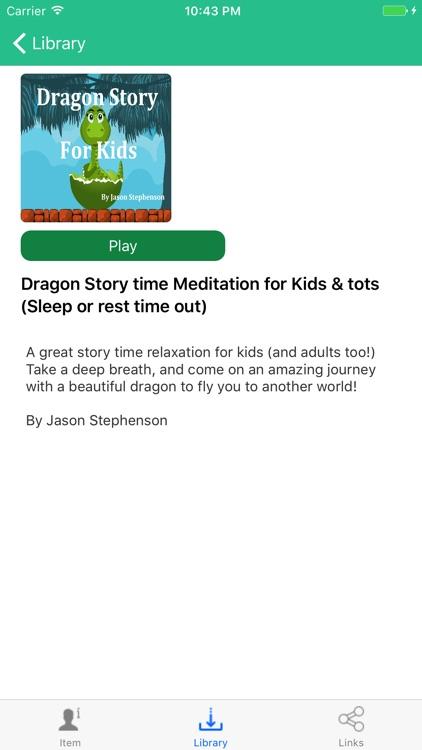 Sleep Meditations for Kids by Jason Stephenson