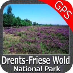 Drents-Friese Wold National Park GPS Map Navigator