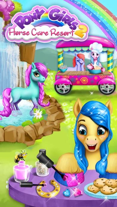 Pony Girls Horse Care Resort 2 - Style & Dress Up screenshot 1