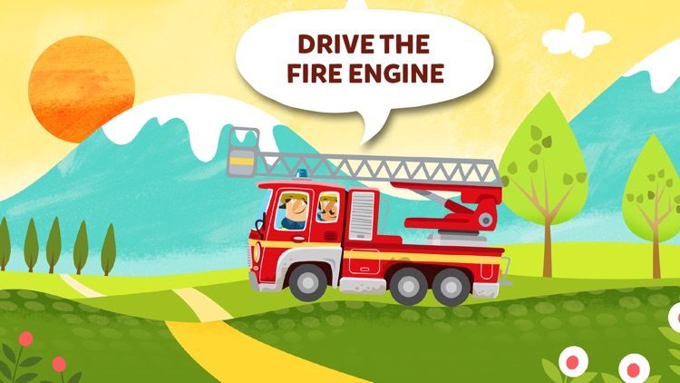 Little Fire Station - Fire Engine & Firefighters screenshot-2