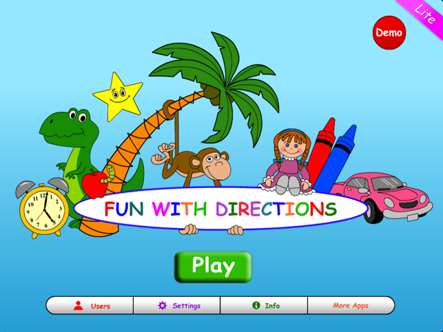 ‎Fun With Directions HD Lite Screenshot