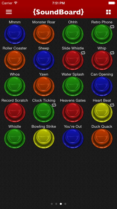 Screenshot #3 pour Sound Board - Annoying Sounds and Funny Effects!