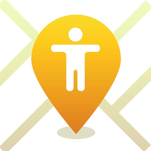iMap - Find my friends for iPhone locate by number app logo