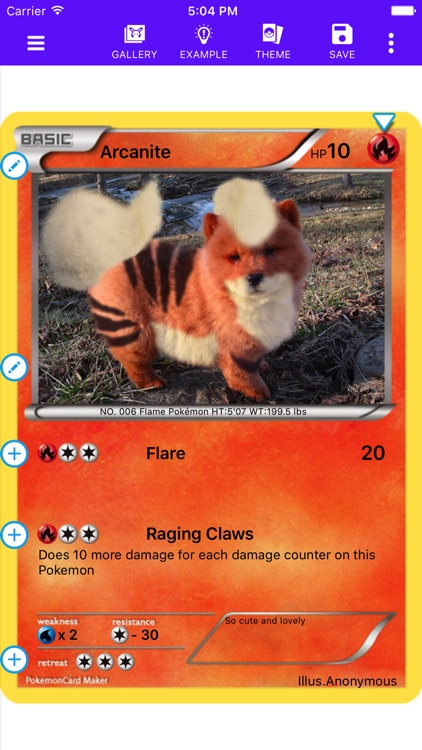 Card Maker Creator for Pokemon screenshot-0
