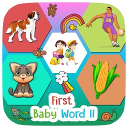 First Baby Words 2 For Kids and Toddlers