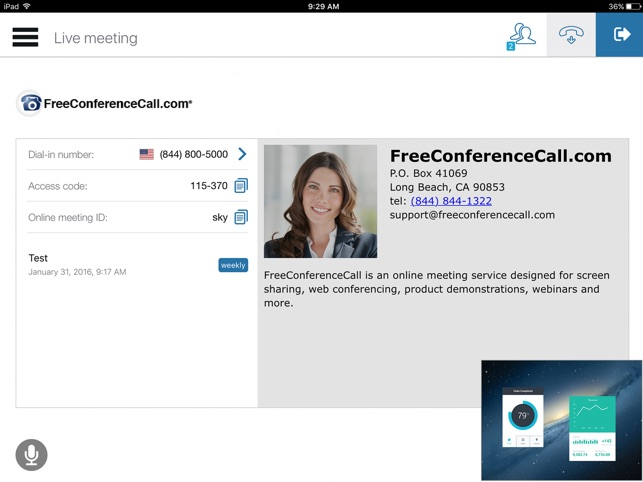 Enter Your Conference Calls Instantly And Fet Pin Forever