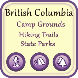 British Columbia Campgrounds & Hiking Trails,State