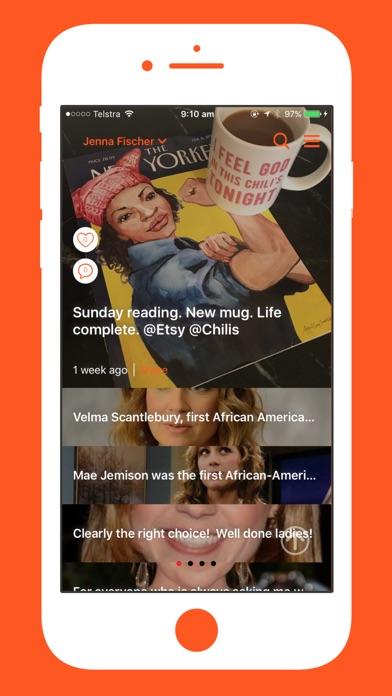 The IAm Jenna Fischer App | App Price Drops