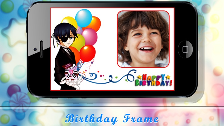 Birthday frames - Photo frames screenshot-4