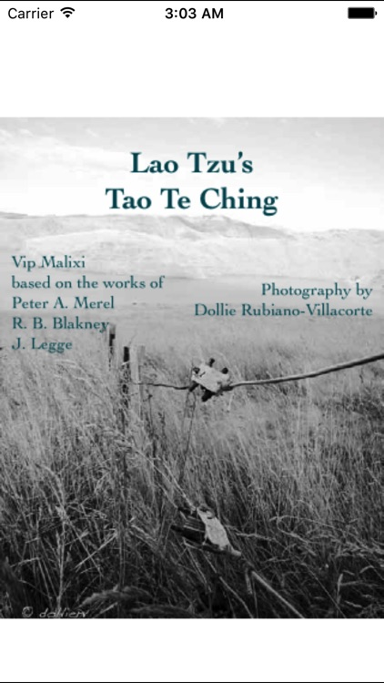 TaoOfWisdom - The Tao Te Ching by Lao Tzu screenshot-0