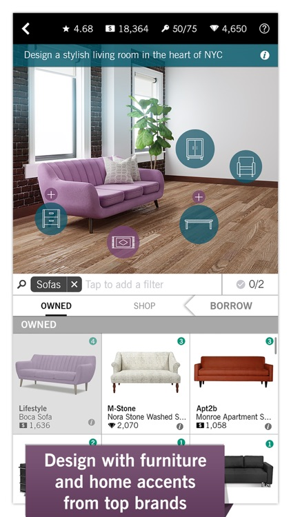 Design home app data review games apps rankings for Home decorating app