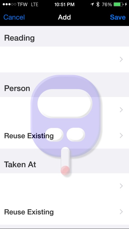 Gluco Logger for iPhone and iPad screenshot-4