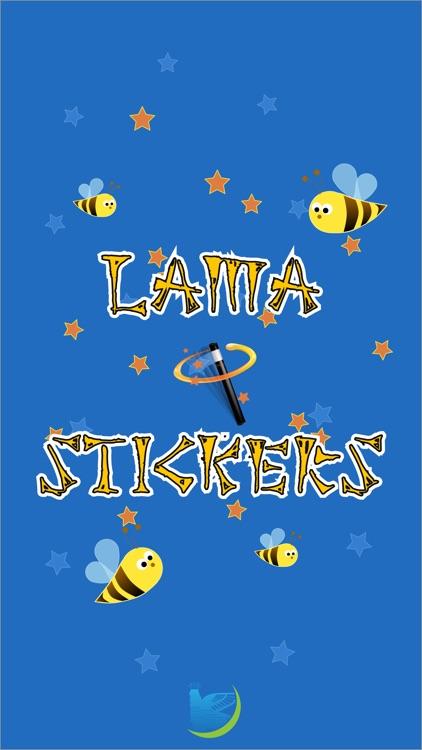 Lama Stickers