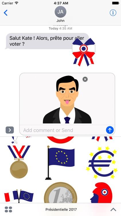 Présidentielle 2017 Emojis