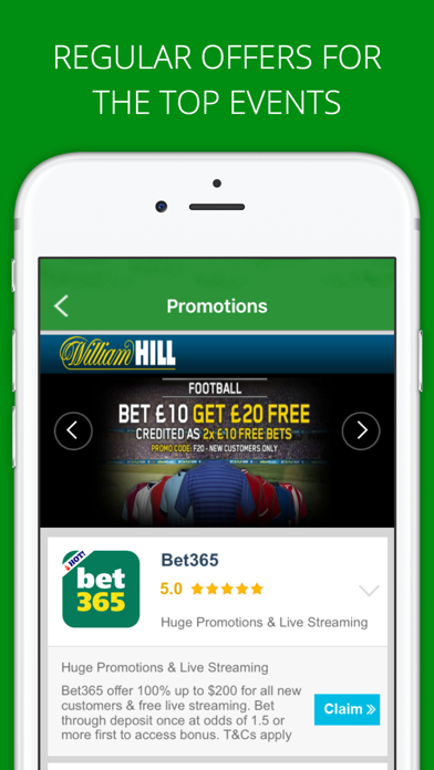 Free Bets Sports Betting App screenshot three