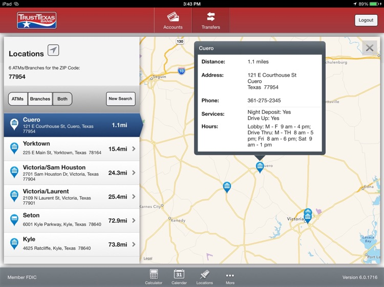 TrustTexas Bank Tablet Banking screenshot-4