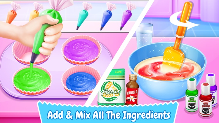 Cupcake Maker! Sweet Desserts screenshot-1