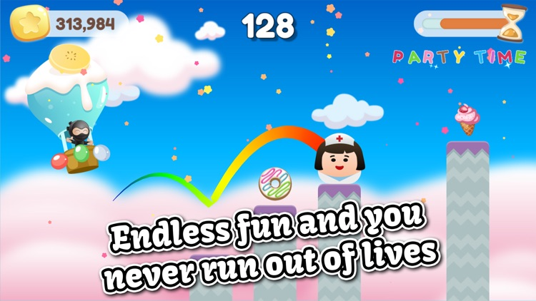 Jump Birthday Party - Free Endless Jumping Ninja