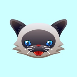 Siamese Cat Stickers for iMessage