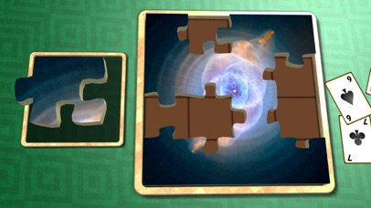 Jigsaw Solitaire Space screenshot two