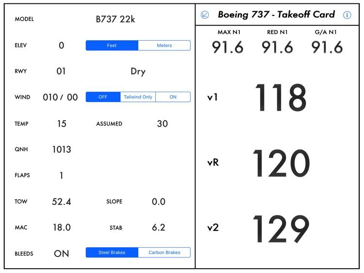 Takeoff Analysis