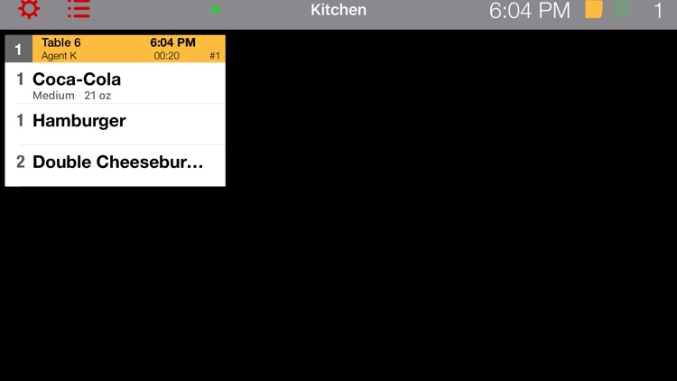 Kitchen KDS for Waiter Pad POS by Vitalii Gryniuk