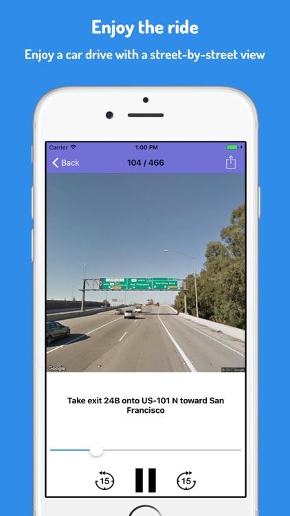 Sitback - StreetView Autopilot