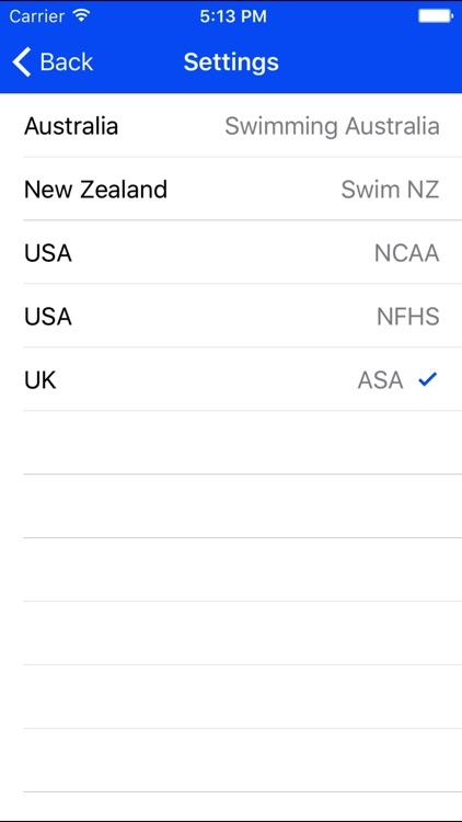 Swim Times Pro