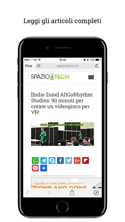 Spazio iTech screenshot-2